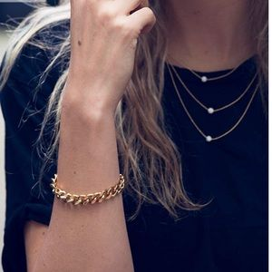 Jewelry - ♥️NIB Cuban Curb Chains in 14k Gold for Charity!💦